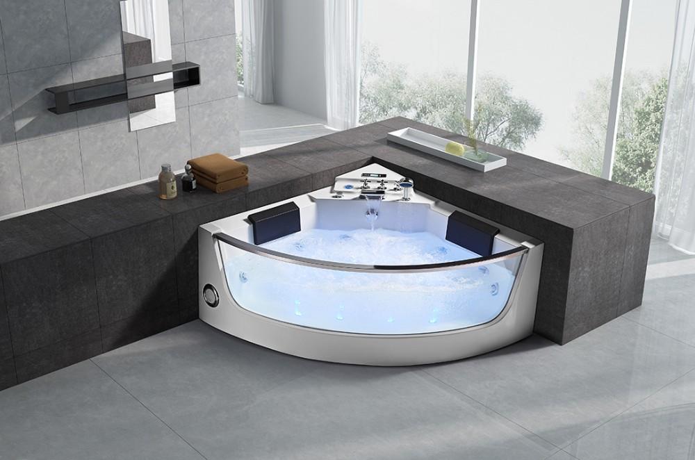 Cheap Whirlpool Bathtub Coner Jacuzzii Shower Combo Triangle Bathtub ...
