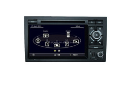 Wince 6.0 7inch touch screen car dvd player for Audi A4 with original Audi UI and BT,Radio,DVD,GPS function