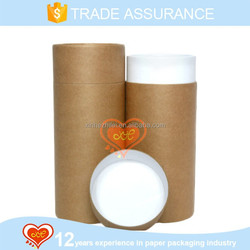 High quality paper cardboard tubes of paper tube packaging kraft paper tube