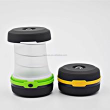 1 W mini size pop up led lanterns,folding led camping lantern with flashlight function