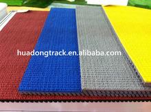 6-13mm indoor outdoor synthetic badminton court flooring running tracks