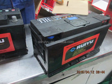 New china products for sale n100 12v 100ah dry charged auto car battery