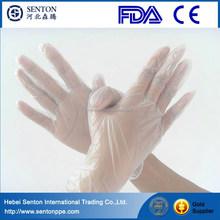China vinyl gloves manufacturer/medical disposable surgical vinyl gloves/CE/FDA