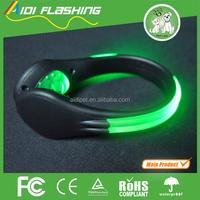 Top quality wholesale led heel shoe flashing led clip on light