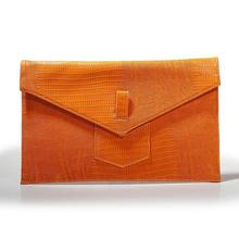 Handcee pu envelope clutch bag for office women