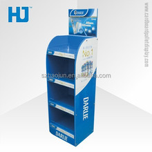 Eco-Friendly Full Colour Custom Cardboard Floor Display for Retail Stores