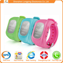 2015 new factory smart watch GPS+LBS location SOS phone call smart children watch