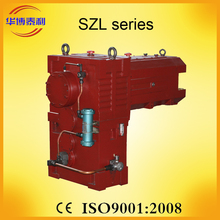 SZ series 3 speed 2 screw extruder gear speed reducer, differential gears for gearbox