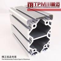 6000series t3-t8 extruded aluminum profile