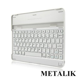 Private Model Universal Aluminium Mini Wireless Bluetooth Keyboard For 7 Inch Tablet Pc