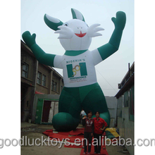 inflatable easter bunny decoration for sale