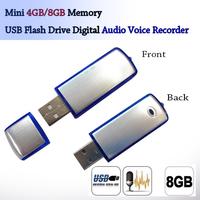 USB mini digital audio video recorder Pen 4gb/8GB wireless mini audio recorder