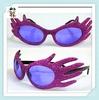 Cheap Plastic Party Wear Novelty Funny Glasses HPC-1615