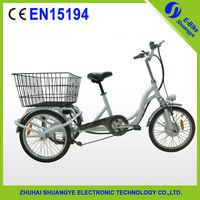 2015 New shuangye A3-AL320 Special 3 wheel cargo e bike