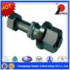 Volvo truck wheel bolt and flange nut,Volvo hub bolts