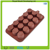 Food grade cylinder shaped silicone mold for chocolate making