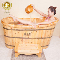 custom size and new design wooden shower bathtub, kx-29