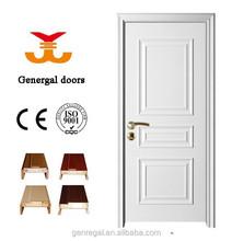 Diseño Simple barato y puertas interiores de madera blanca