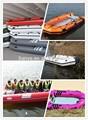 Liya 6.0m divertido inflable barco militar de lanchas patrulleras para la venta