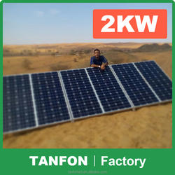 3kw Grid Connect Home Solar System with Power Inverter Hot sales 20 kw mini home solar pv power system for home
