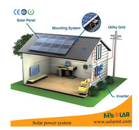 1kw 2kw 3kw home solar systems south africa / solar photovoltaic system 5KW 6KW 10kw / solaire 10000w systeme de panneaux