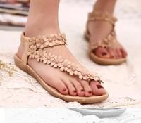 2015 new style women sandals shoes woman Flip Flops shoe fashion casual women flats sandal slides flip-flops Sandy beach shoes