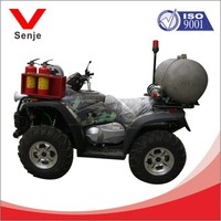 four-wheeled water mist fire motorbike with ABC dry powder extinguishers