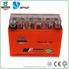 12v Gel Start Auto Motor Battery 6.5ah