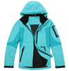 2015 new product in-stock zipper-up windproof jacket with hood for girls