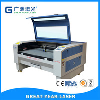 GY 1490 economic double head airplane model laser cutting machine