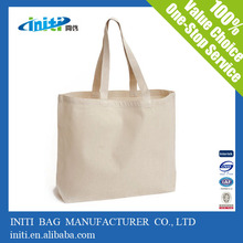 high quality plain tote bags canvas for screen printing
