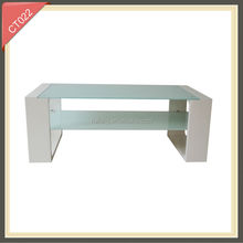 2014 years new design modern lighted elliptical coffee table hinge