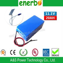 High Capacity 12V 20Ah Batteries Electric Scooter Sealed Lead Acid Li-Ion 28650 Battery Pack from Dongguan Factory