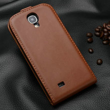China manufacturer mobile genuine leather cell phone case for Samsung Galaxy S4