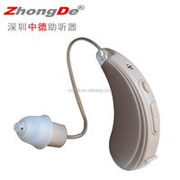 Comfortable programmable hearing aid with digital recorder function