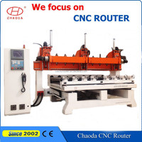 Hot sale !!! China 3d 5 axis 10 rotary wooden sculpture cnc router/furniture/chair/desk/bed/sofa legs making machine