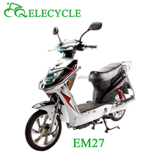em27 450W brushless motor electric scooter with pedal