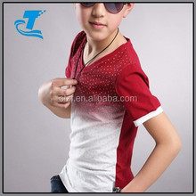 2015 Newest Fashion Boy's kids t-shirt wholesale