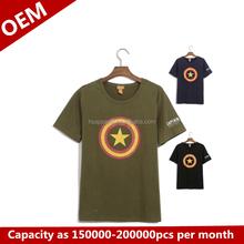 Fashion t shirts star pattern lates t shirt designs for men free sample