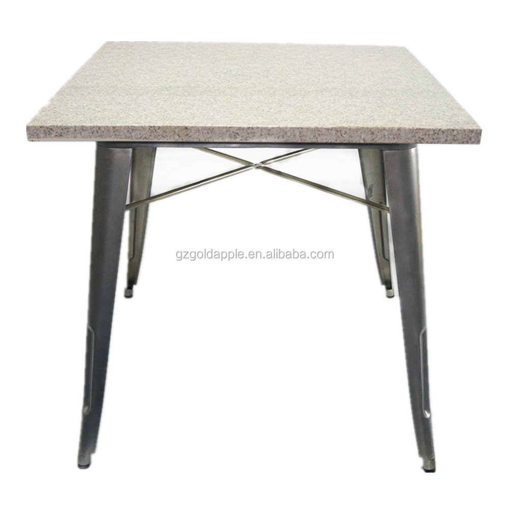 Metal table base designs crowdbuild for for Dining table base ideas