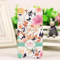 Lady Case PU Leather Case Custom Design Art Smart Phone Cover Case