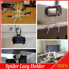 Multi-function Car Phone Holder Spider Stents Lazy bracket For iPhone5s / 6 Samsung Galaxy S4 MP3 Lazy bracket