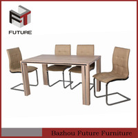 latest designs of modern wood dining room furniture sets