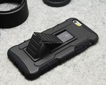 Belt Slip Heavy duty Combo 3 in 1 for iphone 6 armor case