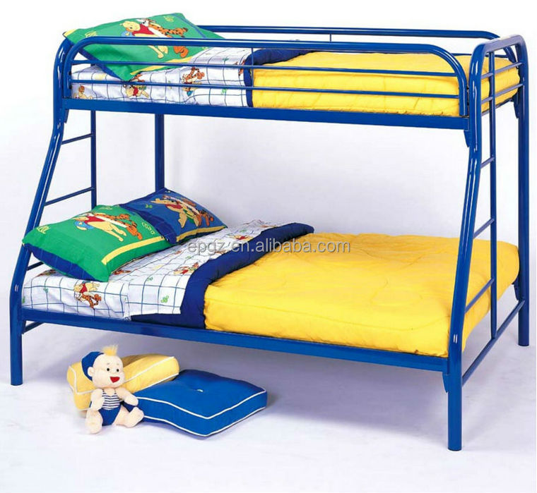 Hot sale used cheap triple bunk bed for sale metal frame for Metal bunk beds for sale cheap