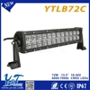 Made in china 13.5 inch car dot approved 72w led light bar waterproof ip67 mini led strip light