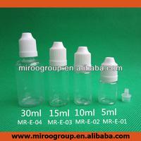 5ml 10ml 30ml PET plastic eye dropper bottle with child-proof cap, e-liquid bottles 10ml, plastic e-cig juice bottle, eliquid