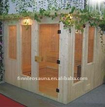 2015 new design personal home steam wood steam sauna room
