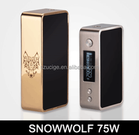 2015 best selling products in Malaysia snow wolf mini 75w tc mod snow wolf 200w temp control mod from Alibaba wholesale Ucige