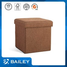 New Arrived Hot Selling Livingroom Furniture Storage Small Square Stool